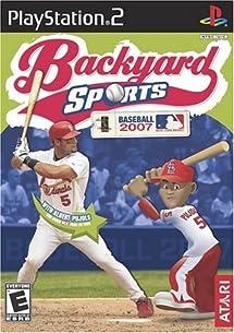 Amazon Com Backyard Baseball 2007 Playstation 2 Video Games