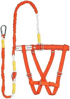 travail a/érien handsomely corde de sauvetage harnais r/églable en hauteur /à stypes pour ceinture harnais antichute de s/écurit/é ceinture de s/écurit/é iBoosila Kits de harnais de s/écurit/é