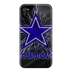 Durable Hard Cell-phone Case For Iphone 4/4s (BmL11914uIcH) Customized Stylish Dallas Cowboys Image