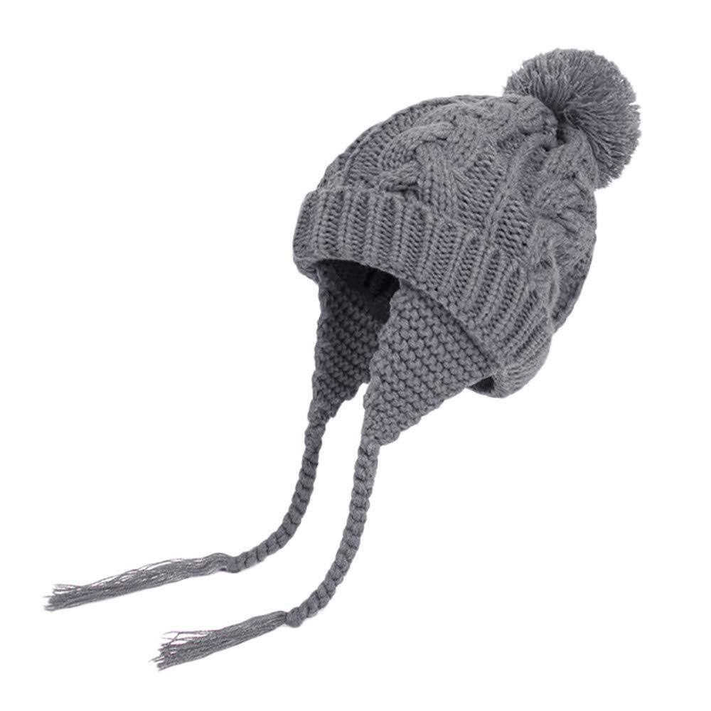 Showking@_baby hat ACCESSORY ユニセックスベビー  グレー B07JB43YW6
