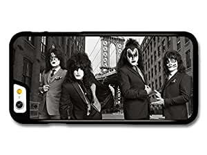 Kiss Band Black and White Photoshoot in Suits case for iPhone 6