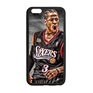 Onshop Custom Allen Iverson Pattern Phone Case Laser Technology for iPhone 6 Plus