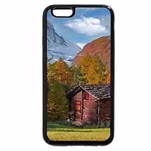 iPhone 6S Plus Case, iPhone 6 Plus Case, Mountain cottage