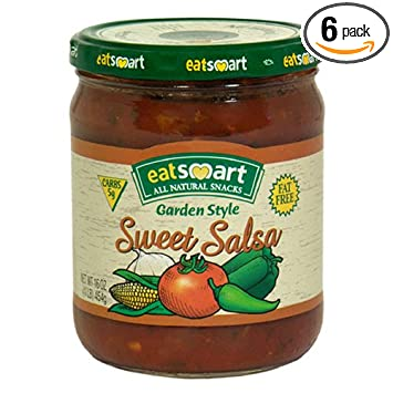 Snyders of Hanover EatSmart Sweet Salsa, Garden Style, 16-Ounce Jars (Pack