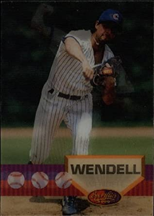 Amazoncom 1994 Sportflics Baseball Card 170 Turk Wendell