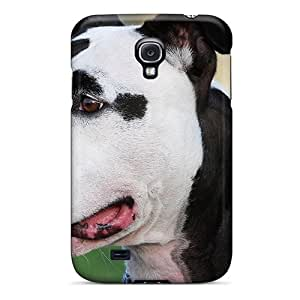 Slim Fit Tpu Protector Shock Absorbent Bumper Piebald Dog Case For Galaxy S4