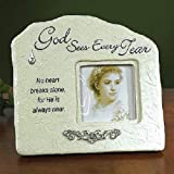 Abbey Press Memorial Tear Photo Frame with Print CD and Gift CD - Inspiration Faith Blessing Spirit 47031-ABBEY