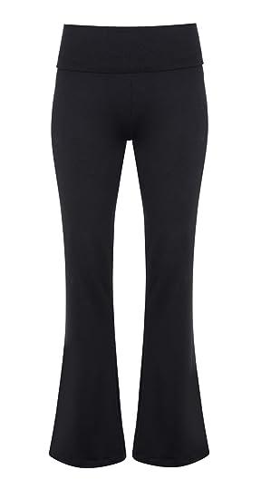 Manuka de Kundalini Rollo Down para Mujer Pierna Pantalones ...