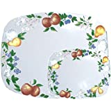 Corelle Coordinates by Reston Lloyd Counter Protector Mats, Set of 2, Chutney