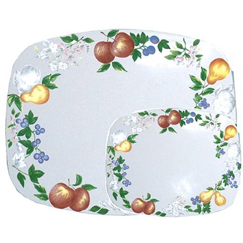Price comparison product image Corelle Coordinates by Reston Lloyd Counter Protector Mats,  Set of 2,  Chutney