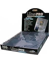 Ultra Pro Platinum 9-Pocket Pages Sheets Protectors - 100 Pack Box