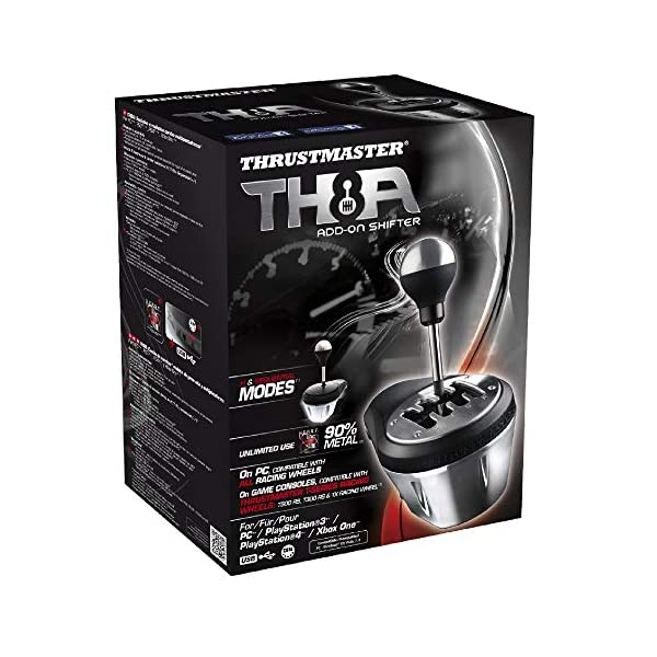 Thrustmaster TH8A Gear Shifter | Racing Game Add-On | PC/PS3/PS4/Xbox One