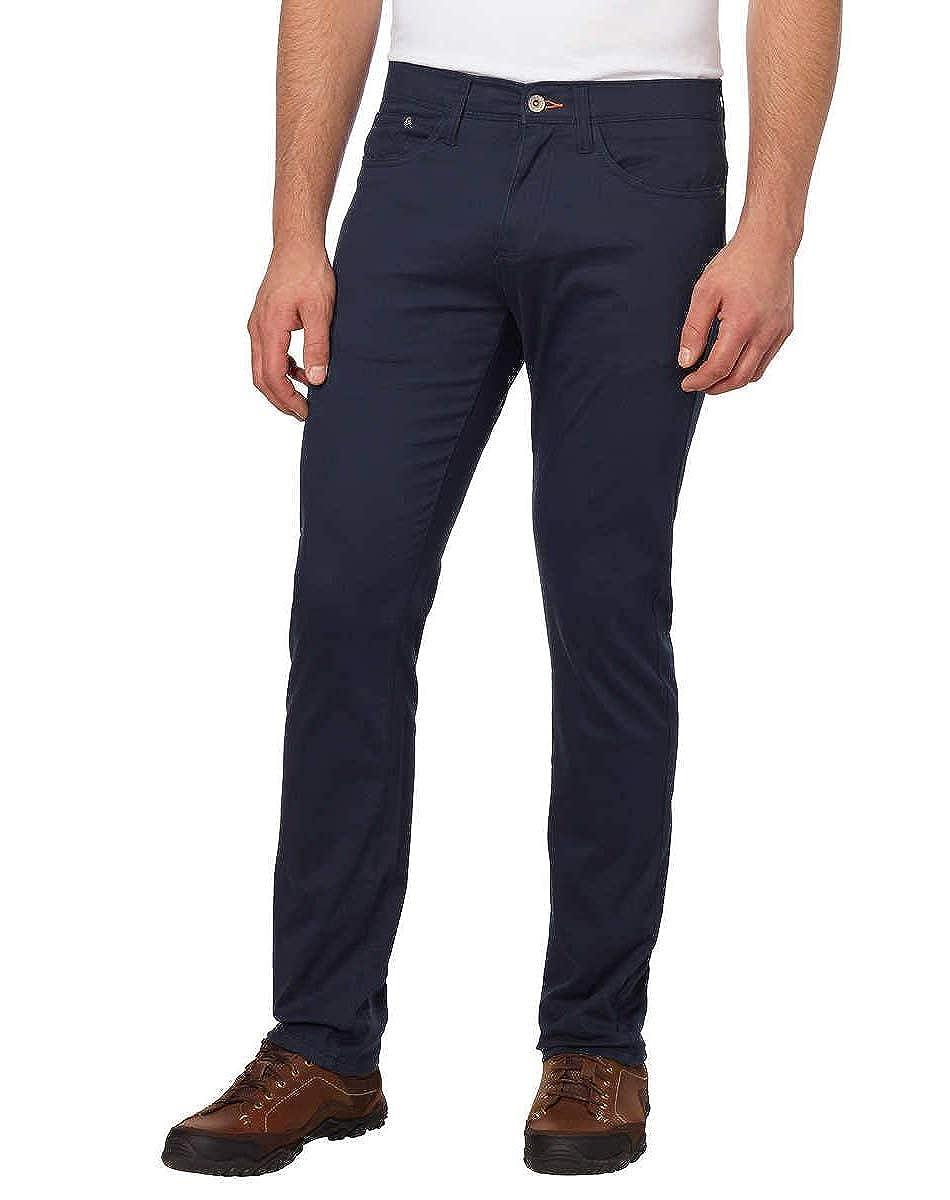 Weatherproof Vintage Mens 5 Pocket Twill Pant Navy, 42 x 32