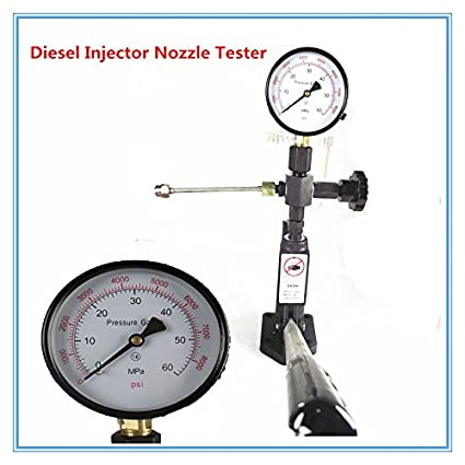 Diesel common rail Injection Nozzle Tester, Manual fuel pump
