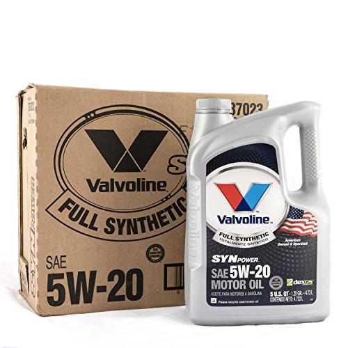 Valvoline SynPower 5W-20 Full Synthetic Motor Oil - 5qt