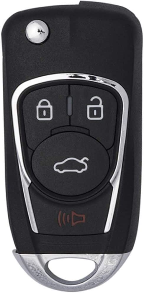 Keymall 315MHz ID46 Upgraded keyless Entry Remote car Key fob Replacement for GMC Sierra Canyon Chevrolet Silverado