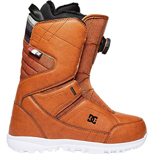 DC Women's Search Boa Snowboard Boots, 7, (Brown Mens Snowboard Boots)
