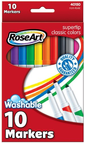 RoseArt Classic SuperTip 10 Count Packaging product image