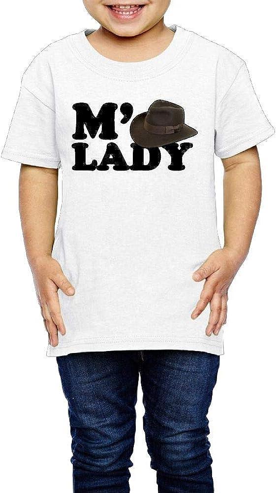 Kcloer24 MLady Children Cute T-Shirt Tops Short Sleeve Tee 2-6 Years Old