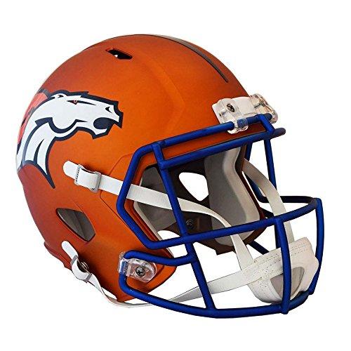 Denver Broncos BLAZE Officially Licensed Speed Full Size Replica Football Helmet by Riddell