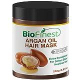 Biofinest Argan Oil Hair Mask – with 100% Organic Jojoba Oil, Aloe Vera, Keratin – Deep Conditioner for Dry/Damaged/Color Treated Hair (250g) For Sale
