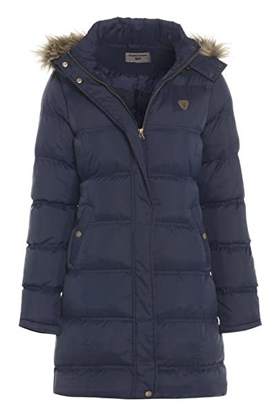 5ee16cad4 SS7 Girls Padded Quilted Parka Coat