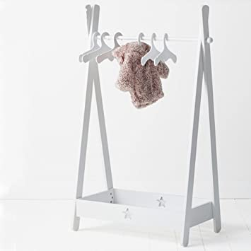 Amazon.com: D&L Children Solid Wood Coat Racks,Baby Floor ...