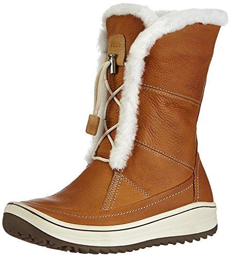 ECCO Women's Trace Tie Snow Boot,Amber,40 EU/9-9.5 M US (Boots Winter Ecco)