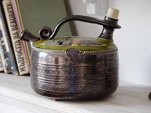 Pottery Teapot - Handmade Ceramic Pot - Clay Tea Pot - Tea Maker - Hot Water Jug - Collectible Gift - Danko Art Pottery - Home Decor