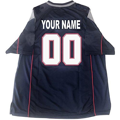 (Custom Football Jerseys Birthday Personalized Any Name & Number Jerseys (NE Patriot))