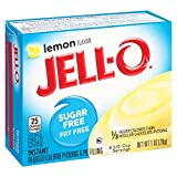 Jell-O Sugar-Free Instant Pudding and Pie Filling, Lemon, 1-Ounce Boxes (Pack of 6) by JELL-O
