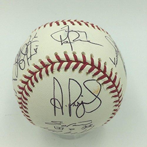 Rare 2006 St. Louis Cardinals World Series Champs Team Signed Baseball JSA - 2006 Series Champs World