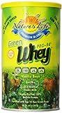 Nature's Life Whey, Green, Vanilla Bean, Powder, 442 Grams For Sale