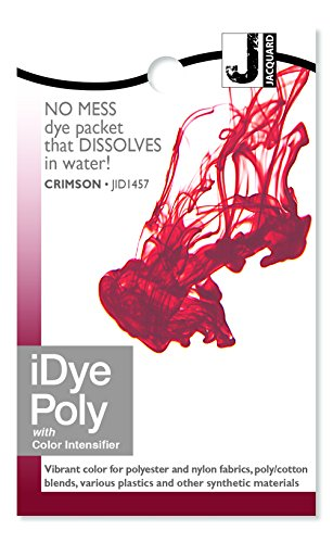 Price comparison product image Jacquard IDYE-457 iDye Poly, 14 Grams, Crimson