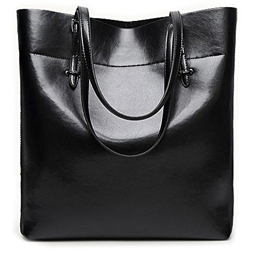 WJkuku Fashion Leisure Female Soft Cowhide Leather Vintage Shoulder Tote Bag Handbag - Store Gucci Clearance