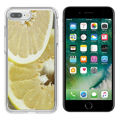 Luxlady Apple iPhone 7/8 Clear case Soft TPU Rubber Silicone Bumper Snap Cases iPhone7/8 IMAGE ID 25308668 A cut pomelo on table