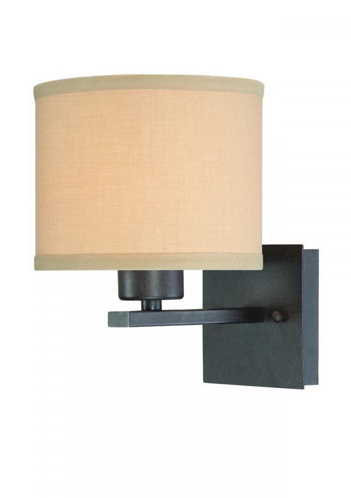 Dolan Designs 2946-34 Tecido Wall Sconce Olde World Iron