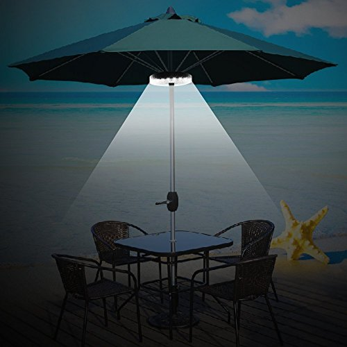 Led Umbrella Amazon: Patio Umbrella Light 3 Brightness Mode Cordless 28 LED