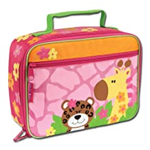 Stephen Joseph Lunchbox, Girl Zoo, Multicolored, One Size