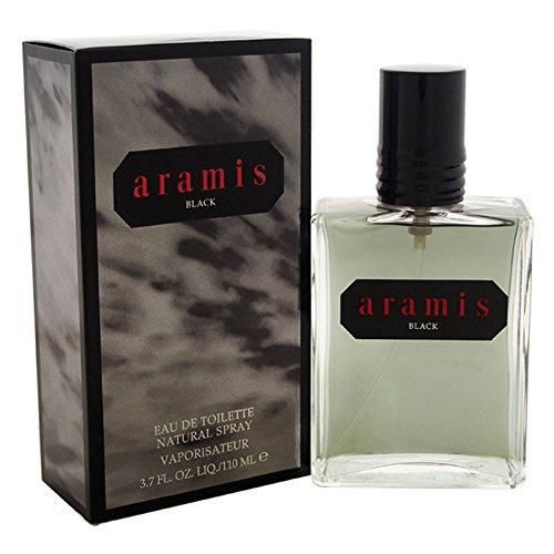 Aramis Black Eau de Toilette Spray for Men, 3.7 oz