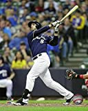 "Ryan Braun Milwaukee Brewers 2016 MLB Action Photo (Size: 8"" x 10"")"