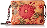 Anuschka Handpainted Leather Small, Summer Bloom