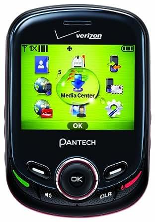 Pantech Jest 2, Black (Verizon Wireless)