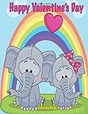 Happy Valentine's Day Coloring Book