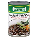 Canoe Cooked Wild Rice 15.0 OZ (Pack of 12)
