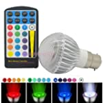 JnDee™ Dimmable RGB 5W B22 Colo...