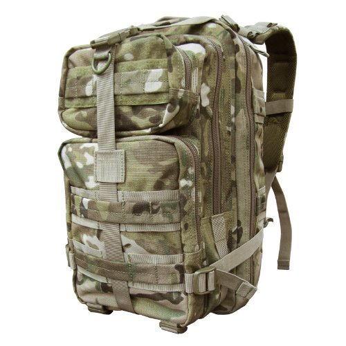 Condor Outdoor Compact Assault Backpack - Multicam - One Size by Condor ()
