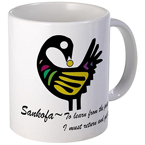 CafePress - Sankofa Bird Mug - Unique Coffee Mug, Coffee (Sankofa Bird)