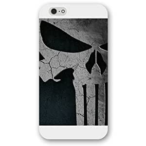 "Onelee Customized Marvel Series Case for iPhone 6+ Plus 5.5"", Marvel Comic Hero The Punisher Logo iPhone 6 Plus 5.5"