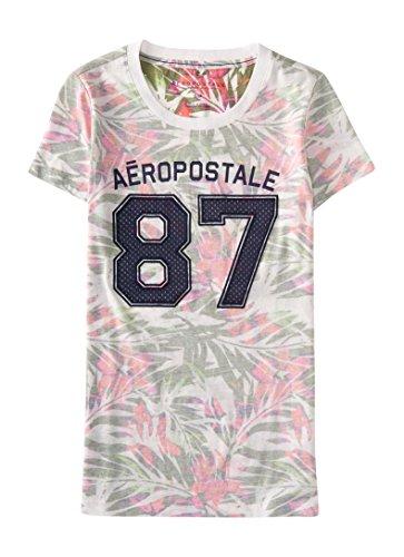 Aeropostale Womens Tropical Aropostale Graphic